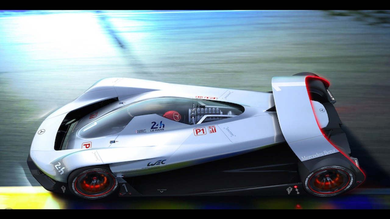 Mercedes-Benz DTW Concept Envisions a Return to Le Mans in 2030