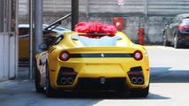Ferrari F12 Speciale spy photo