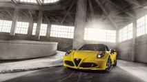 2016 Alfa Romeo 4C and 4C Spider