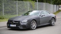 2016 Mercedes SL63 AMG facelift spy photo