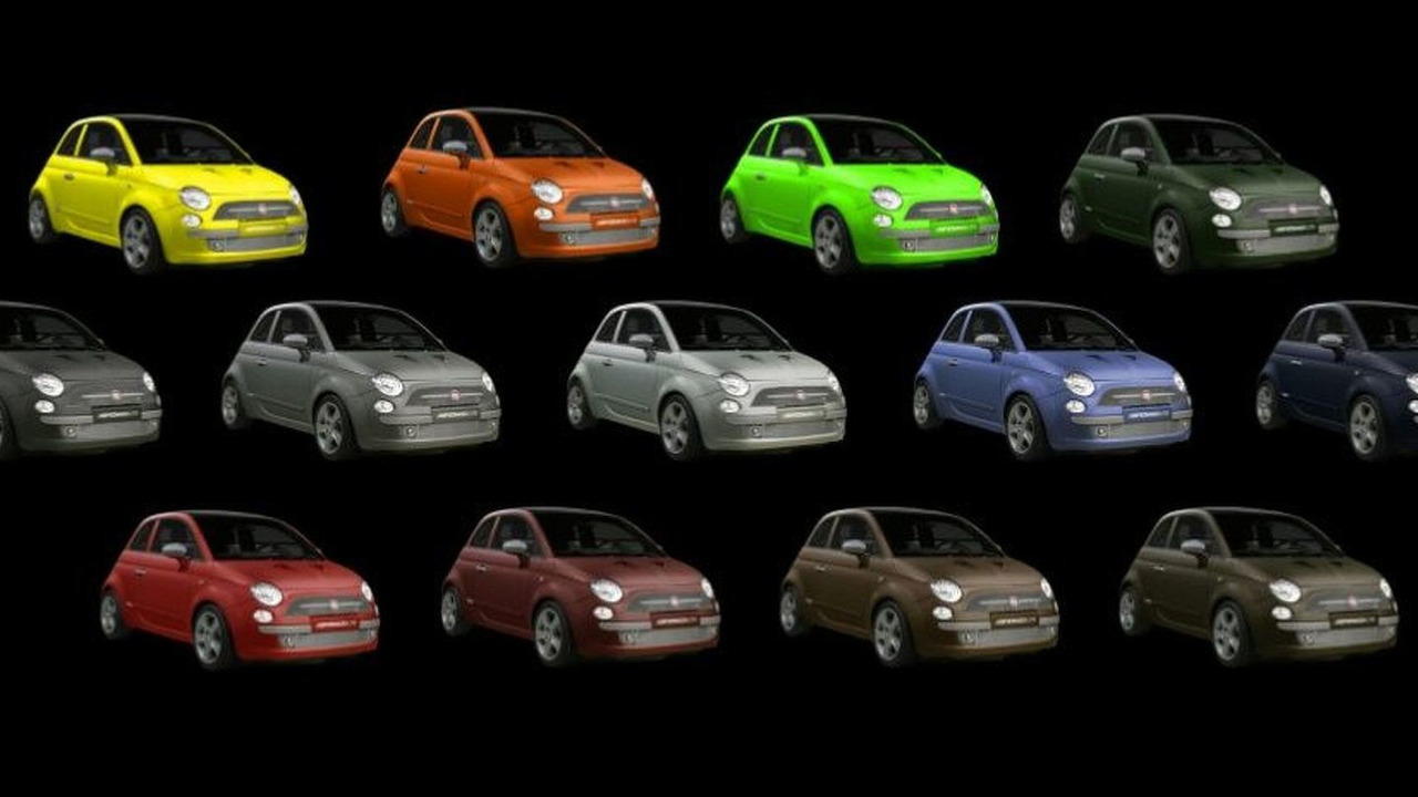 Fiat 500 M Colour Range