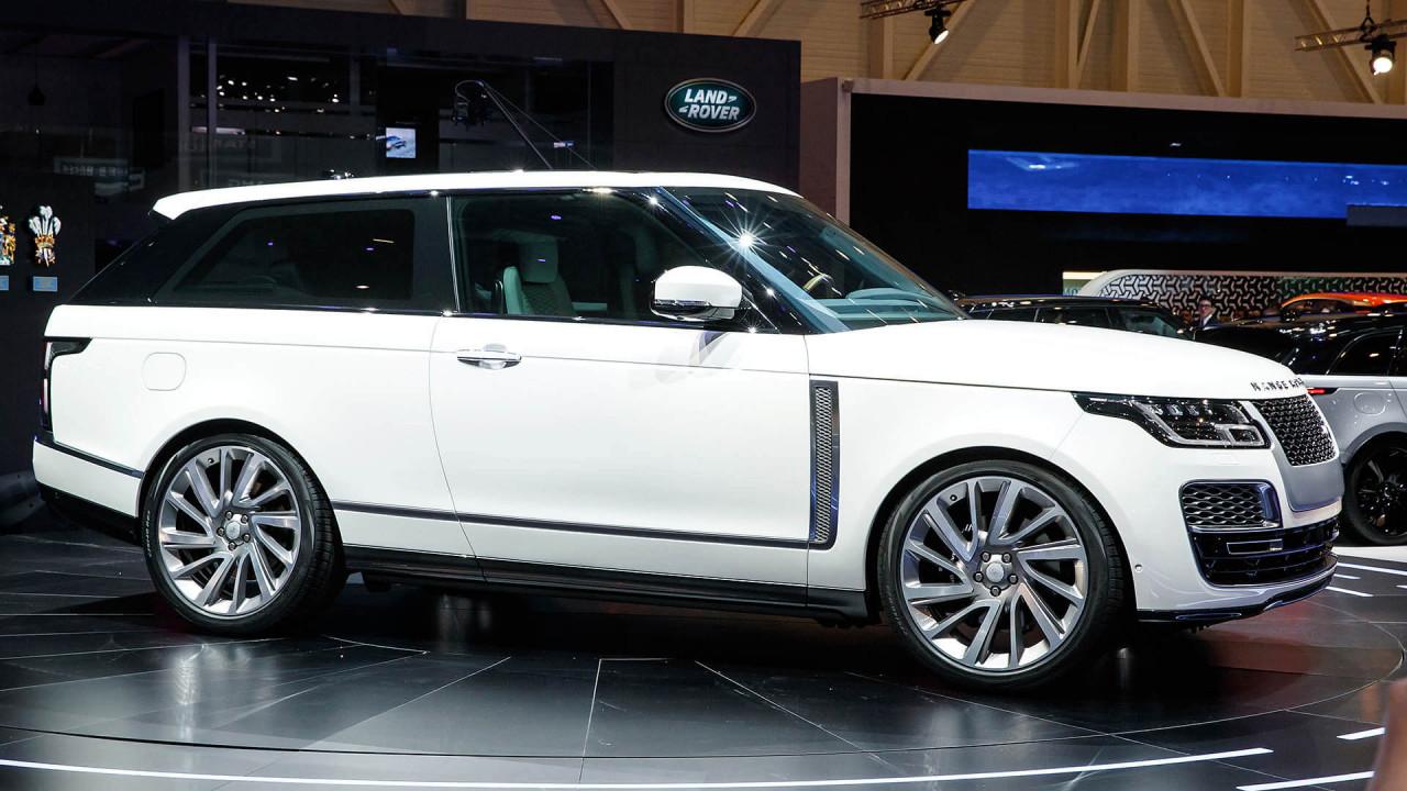 Flop (Roland Hildebrandt): Range Rover SV Coupé