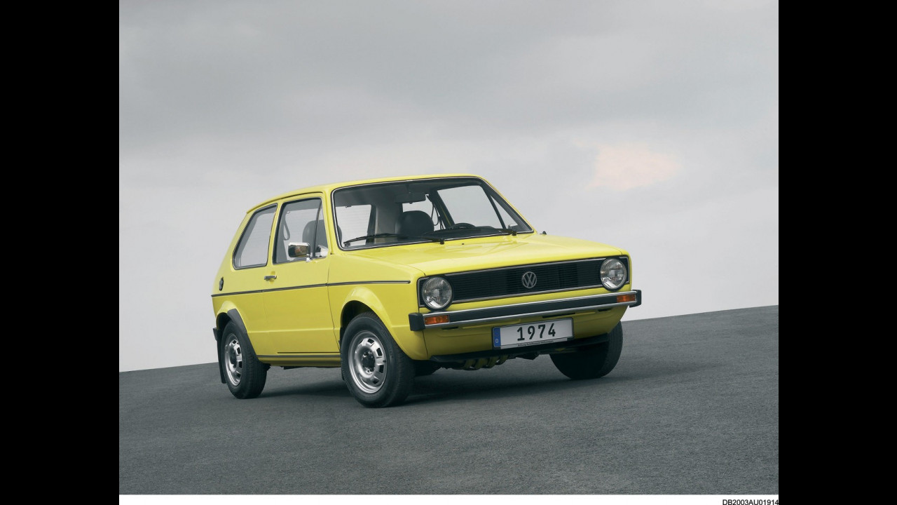Volkswagen Golf, le foto storiche 007