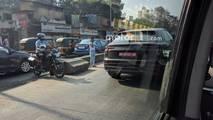 2018 Audi Q8 casus fotoğraflar - Hindistan