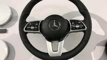 2018 Mercedes-Benz steering wheels