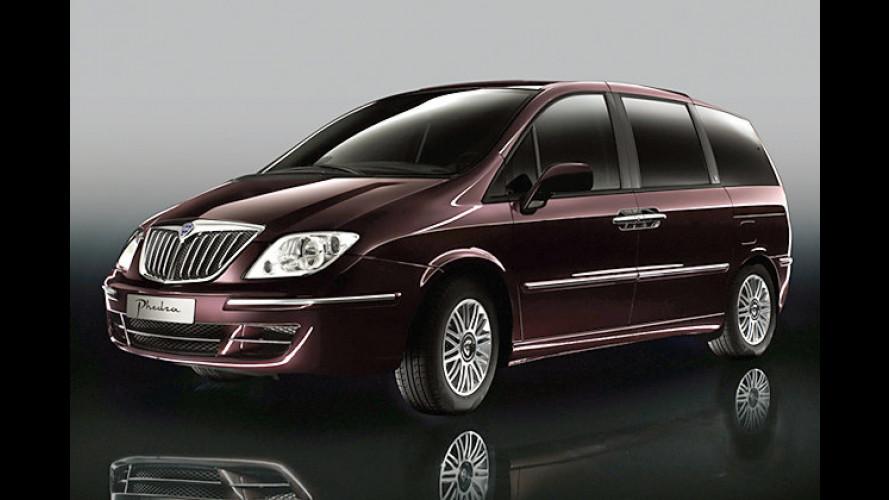 Lancia Phedra: Italienischer Edel-Van wird hübsch gemacht
