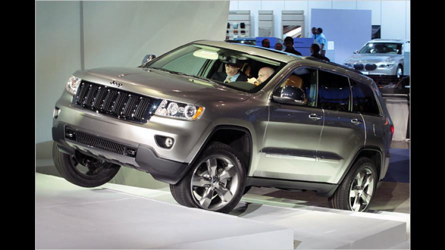 Jeep Grand Cherokee erhält neue Optik und Technik