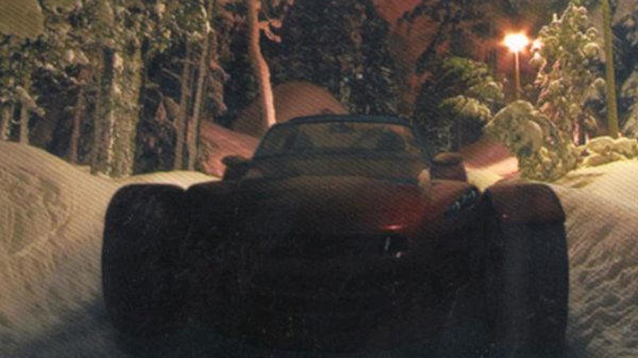 Donkervoort D8 GTO teaser image - 12.29.2010