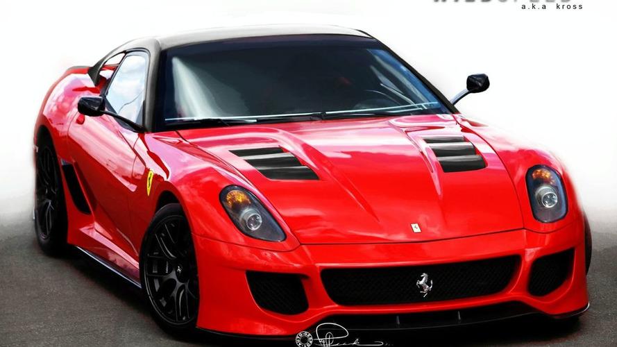 Ferrari Preparing Hardcore 599 GTO?