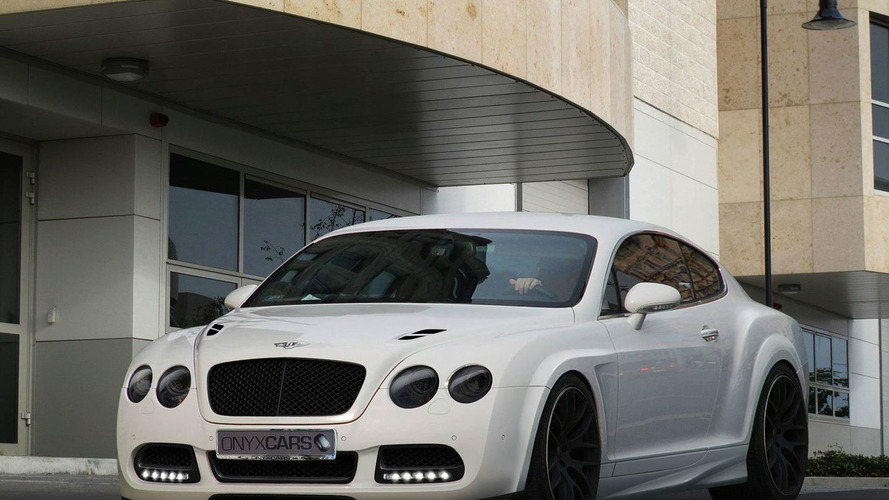 ONYX Bentley Continental Platinium GTO Package