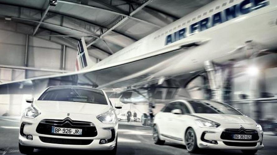 Citroën fans recreate DS5 photo shoot with Concorde
