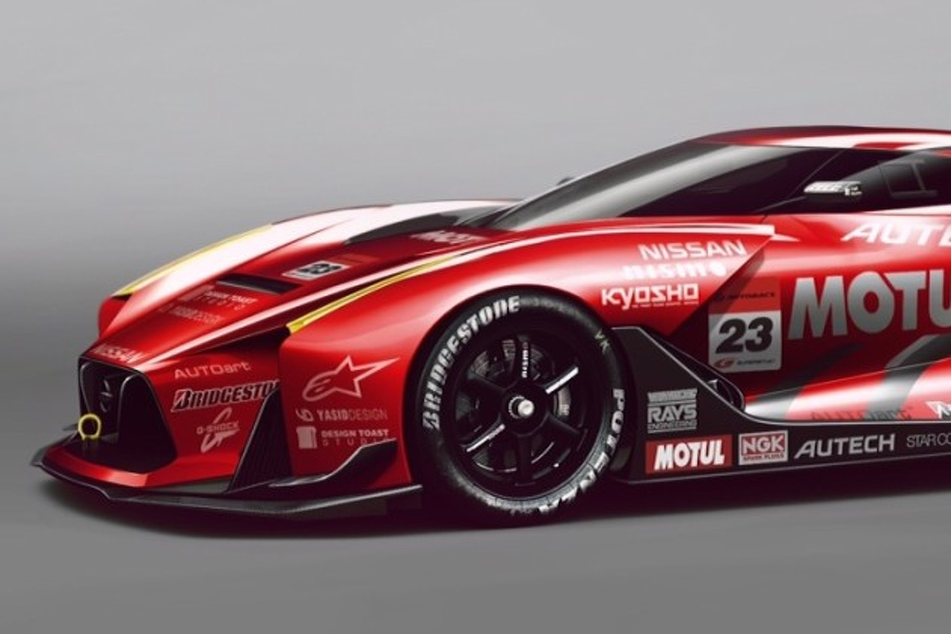 Nissan Gt Concept Covered In Awesome Racing Livery