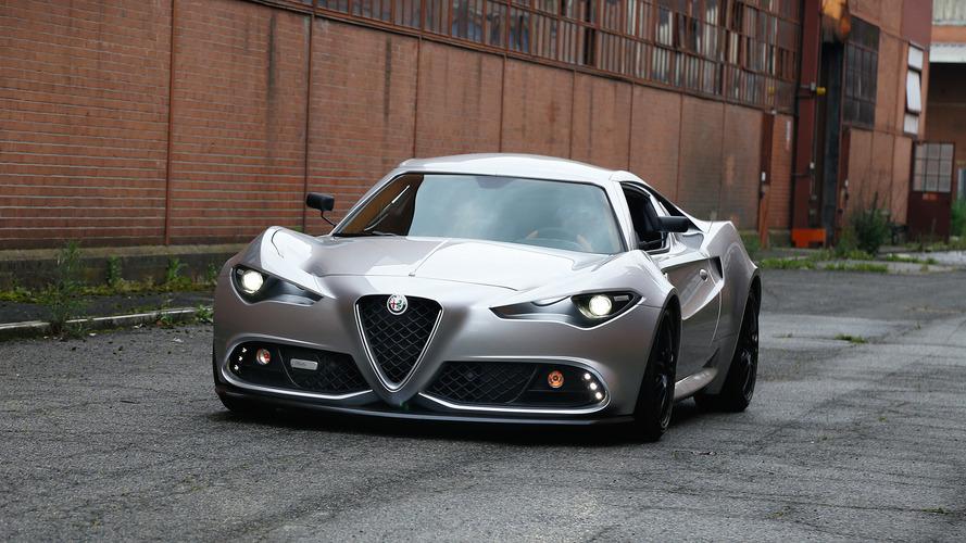 Italian Coachbuilder Imagines What Next Alfa 4C Would Look Like