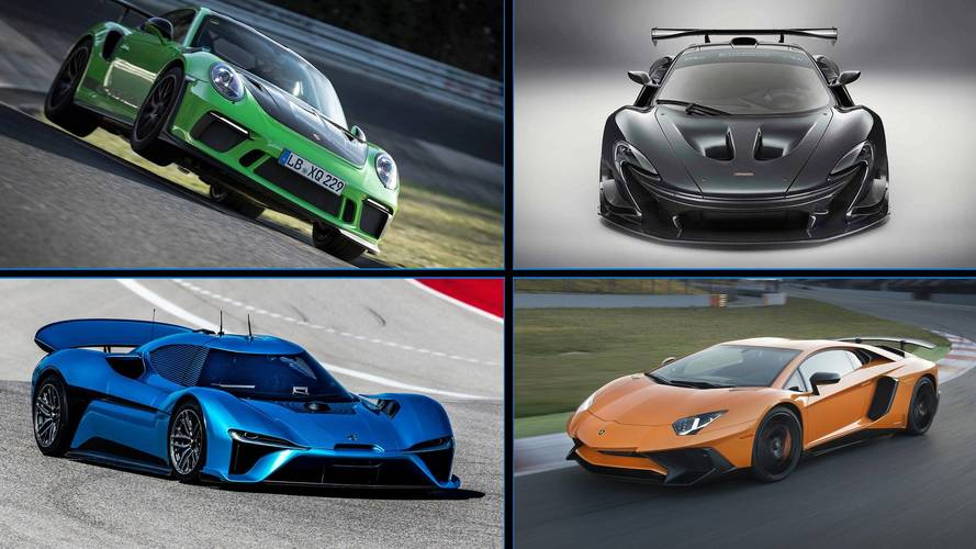 Descubre los 10 coches de calle más rápidos en Nürburgring-Nordschleife