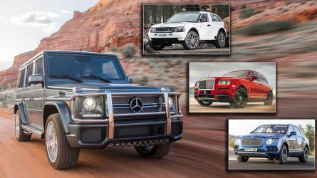 Die 13 teuersten SUVs aller Zeiten