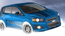 Chevrolet Sonic B-Spec race car concept