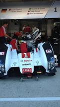 Rebuilt #1 Audi R18 e-tron quattro