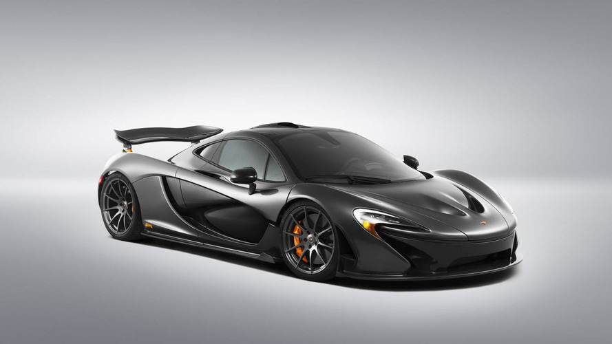 McLaren will build 20 P1s with full carbon fiber body