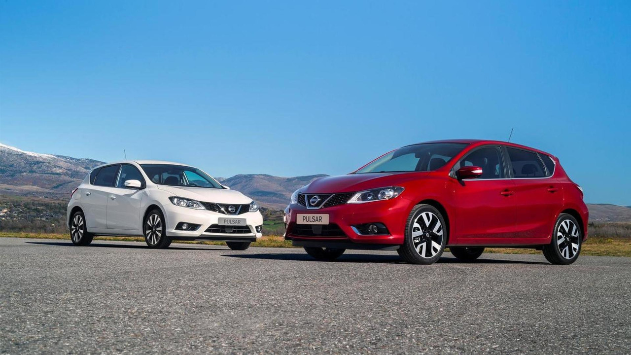 Nissan Pulsar with 1.6 DIG-T engine
