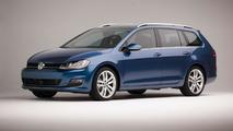 Volkswagen releases extensive gallery with US-spec 2015 Golf SportWagen