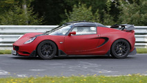Steet-legal Lotus Elise S Cup R spied testing