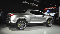Hyundai Santa Cruz Crossover Truck Concept at 2015 NAIAS