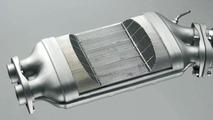BMW diesel particle filter