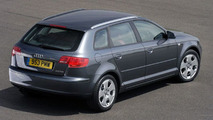New Audi A3 Sportback UK spec
