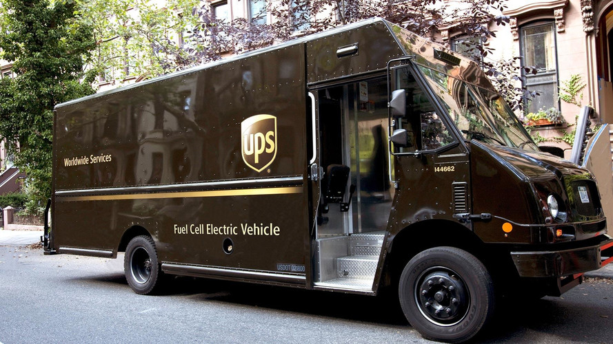 Meet UPS' Fuel-Cell-Powered Delivery Truck Prototype