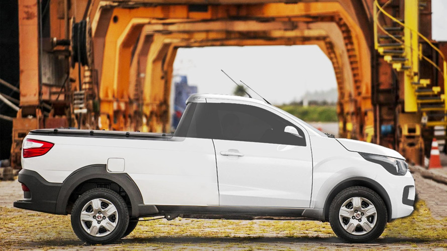Fiat X1P terá cara de Toro