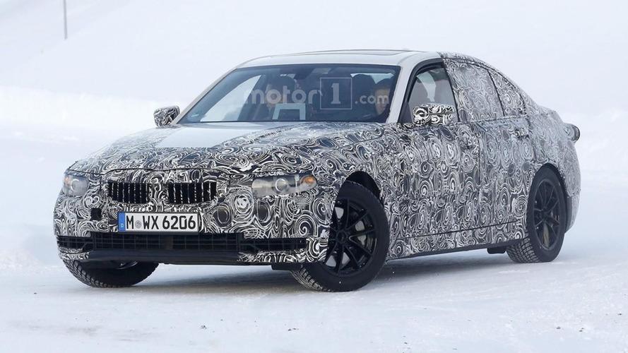 Flagra! - BMW Série 3 de nova geração é filmado andando de lado na neve