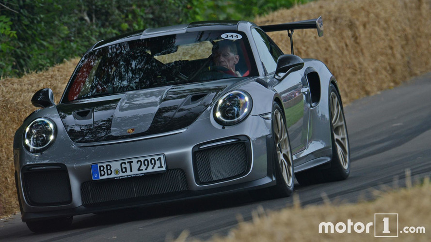 Goodwood 2017 - La Porsche 911 GT2 RS passe à l'action !