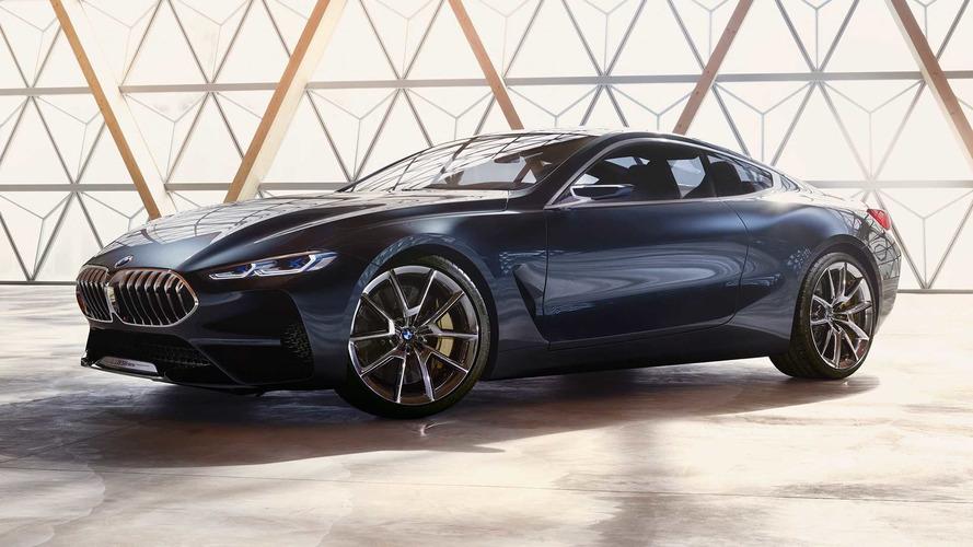 Swarovski kristályokkal az utastérben érkezett meg a BMW 8-as sorozat tanulmány