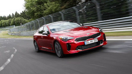 Each Kia Stinger Prototype Endured 480 Laps Of 'Ring Testing