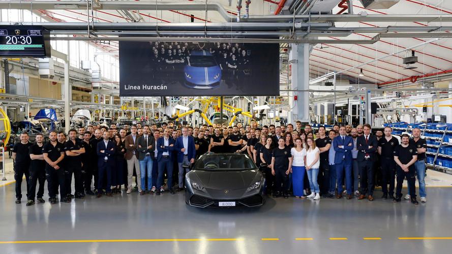 Déjà 8000 Lamborghini Huracán sur les routes