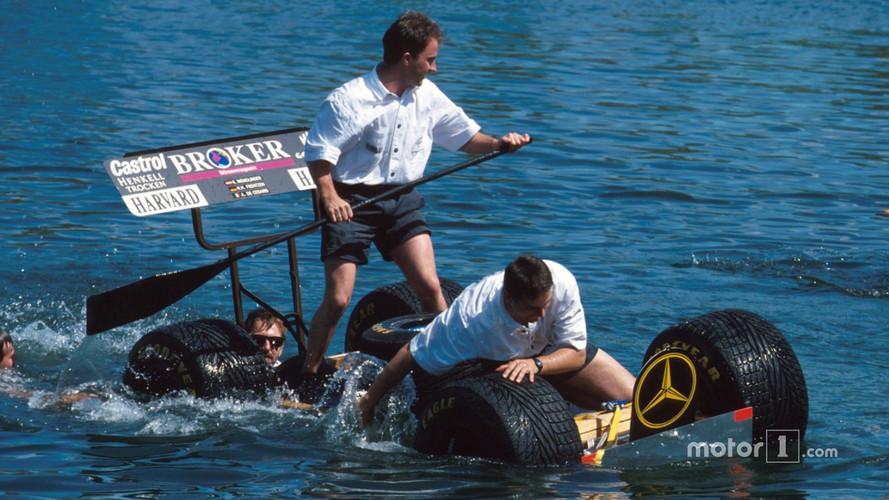 Formula 1 Resurrects Montreal Raft Race