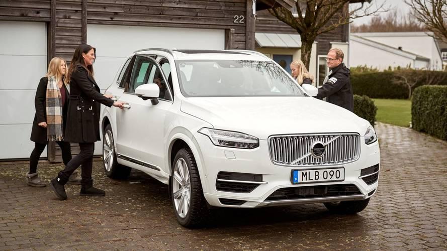 Volvo développe sa voiture autonome aux côtés de familles suédoises