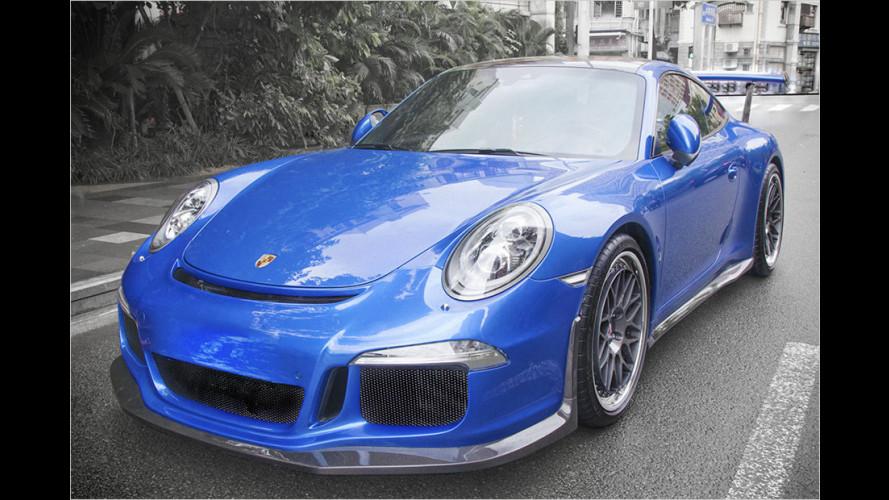 Beflügelter Porsche