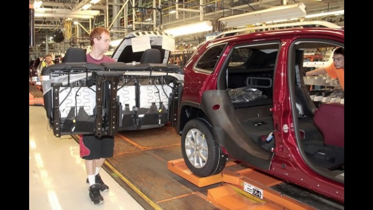 Jeep atrasa lançamento do novo Cherokee nos EUA pela terceira vez