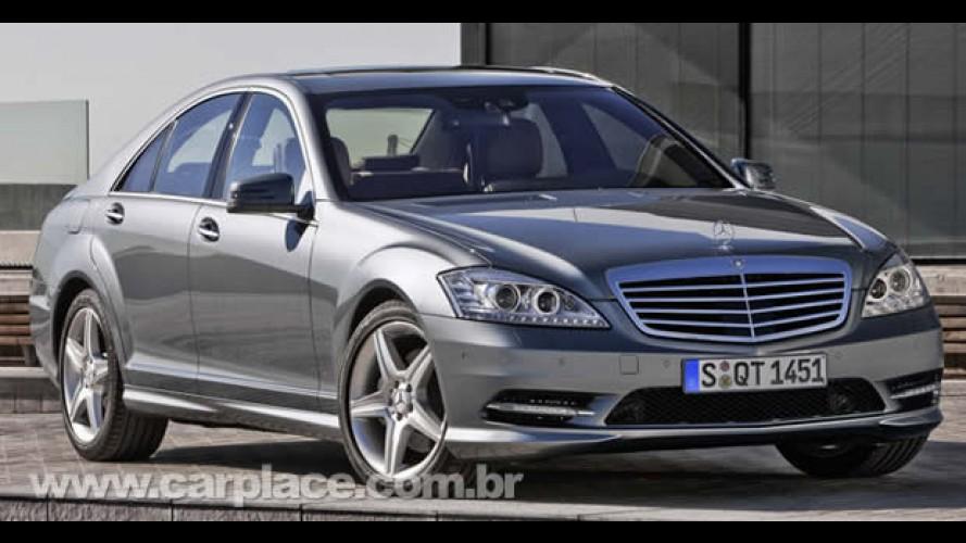 Mercedes-Benz mostra Classe CL e Classe S AMG Sport Pack - Top pode ter V12 de 604 cv!!