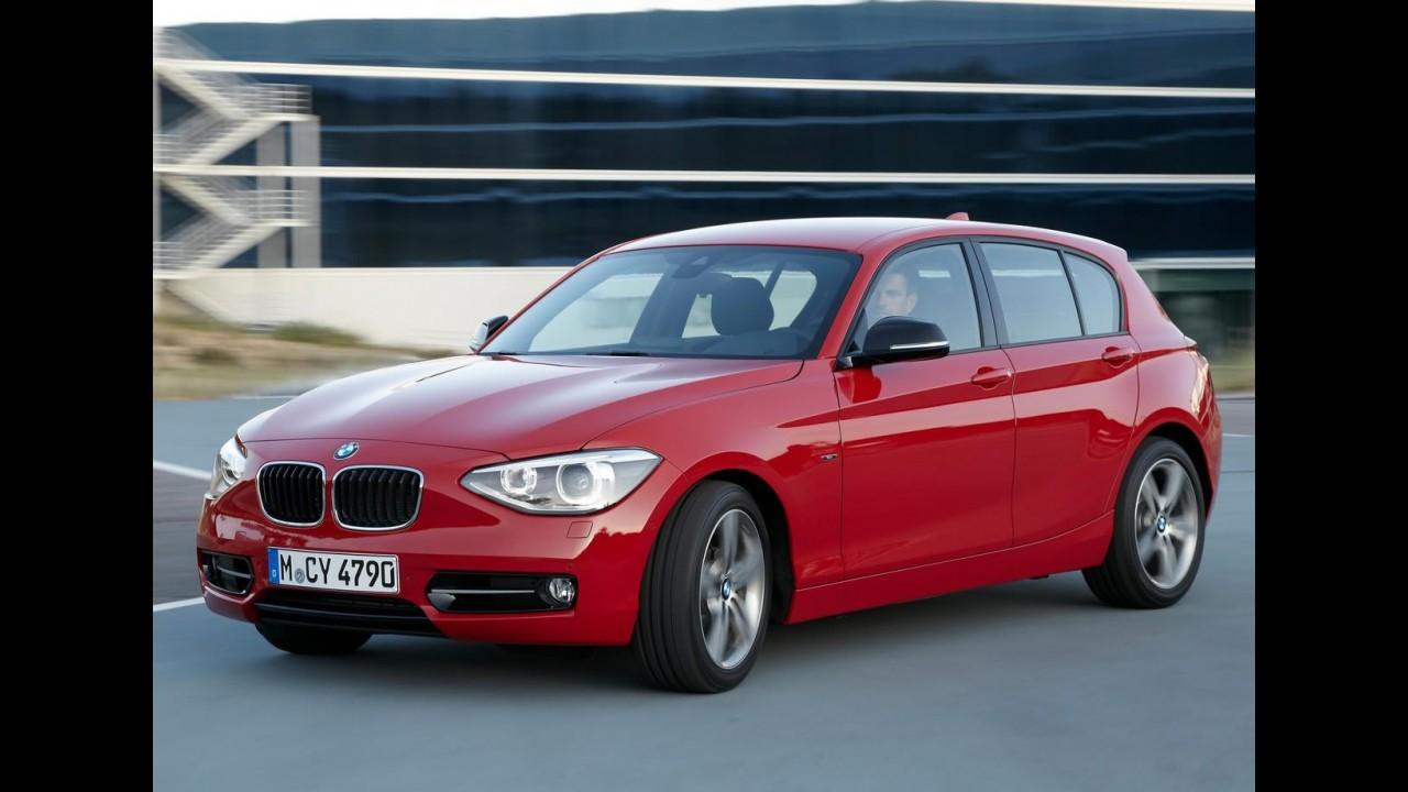 Novo BMW Série 1 chega em março custando a partir de R$ 122.900