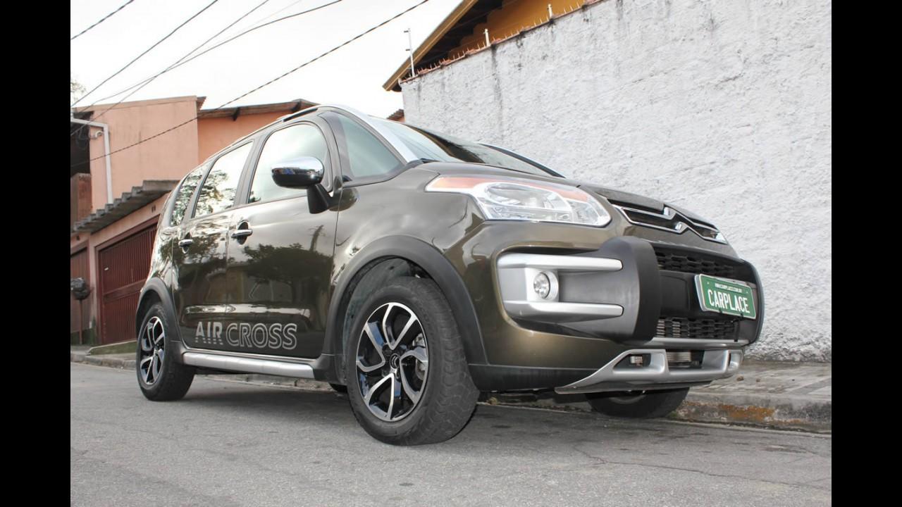 Garagem CARPLACE: Comportamento do Citroën AirCross na estrada