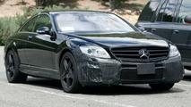 Mercedes CL 63 AMG Spy Photo