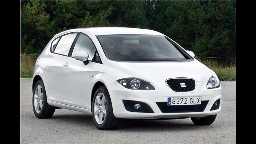 Seat: Altea und Leon als sparsame Ecomotive-Modelle