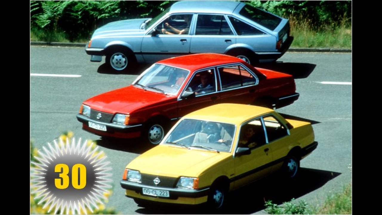 30 Jahre Opel Ascona C