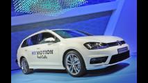 Volkswagen Golf SportWagen HyMotion, l'idrogeno familiare