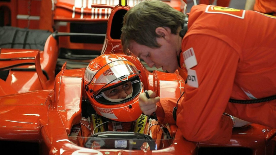 Schumi Will Test Ferrari 2009 Set Up