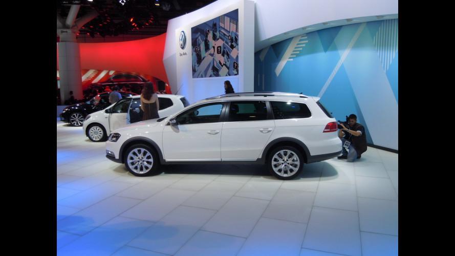 Volkswagen Passat Alltrack: sguardo alto e 4x4