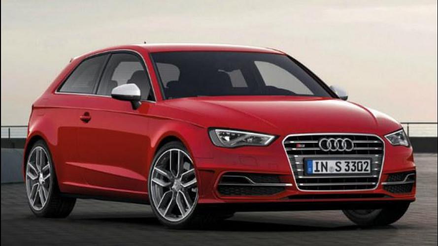 Audi S3 e S3 Sportback, i prezzi
