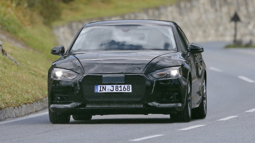 2017 Audi A5 Sportback spied for the first time, no surprises here